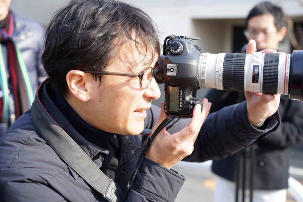 プロカメラマン稲垣