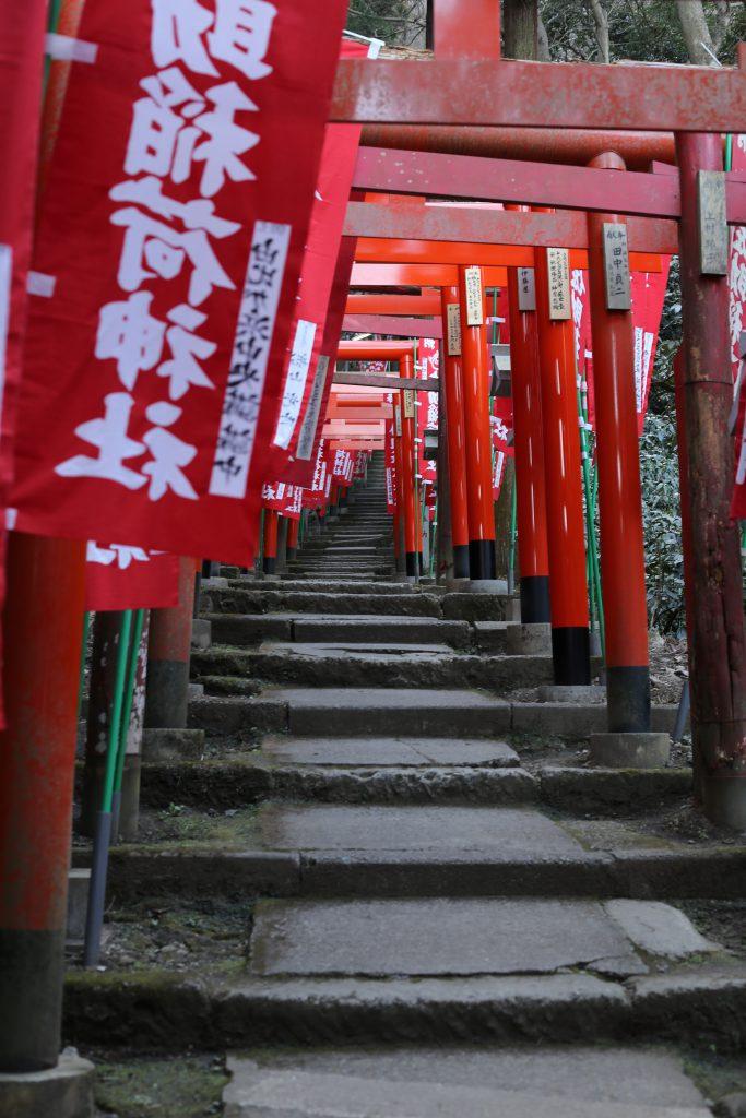 鎌倉佐助稲荷神社入口
