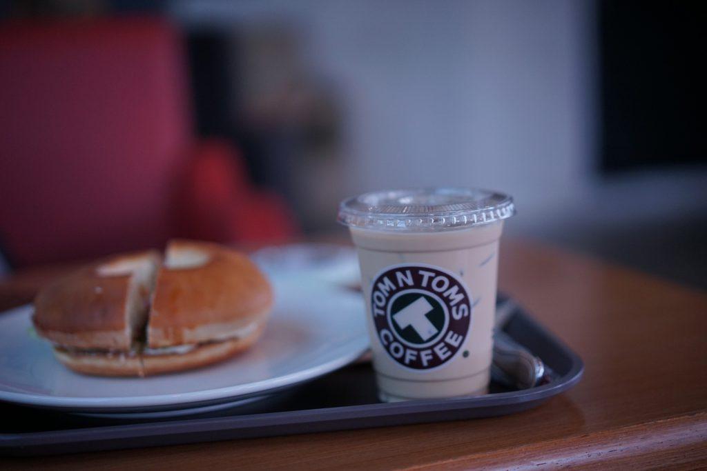 バンコクTOMNTOMSコーヒー