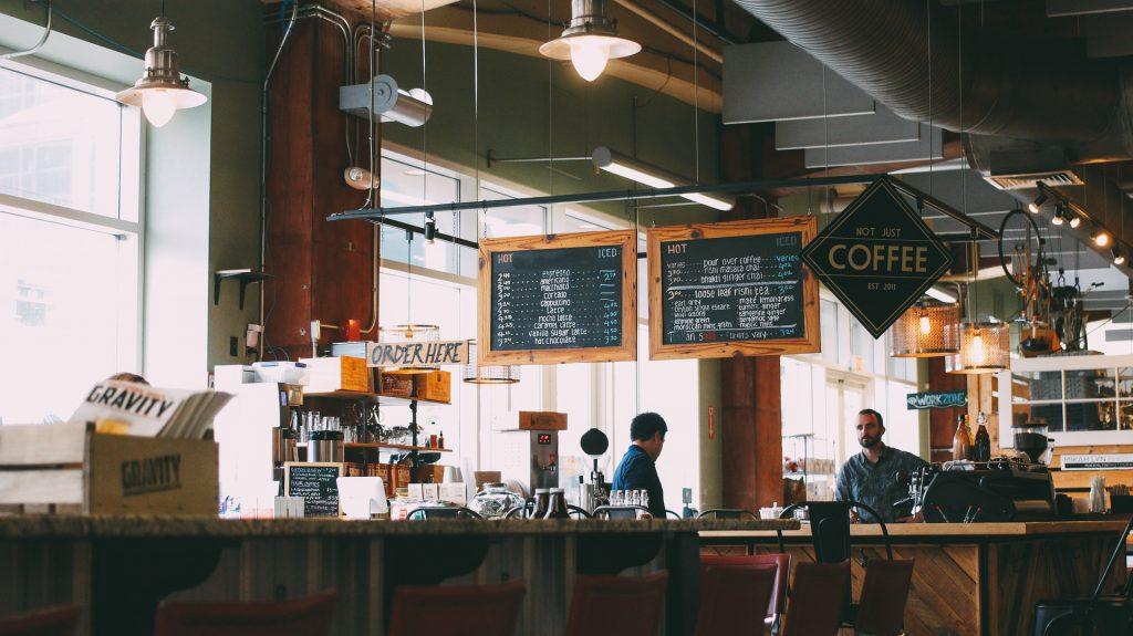 カフェ, スタンディング