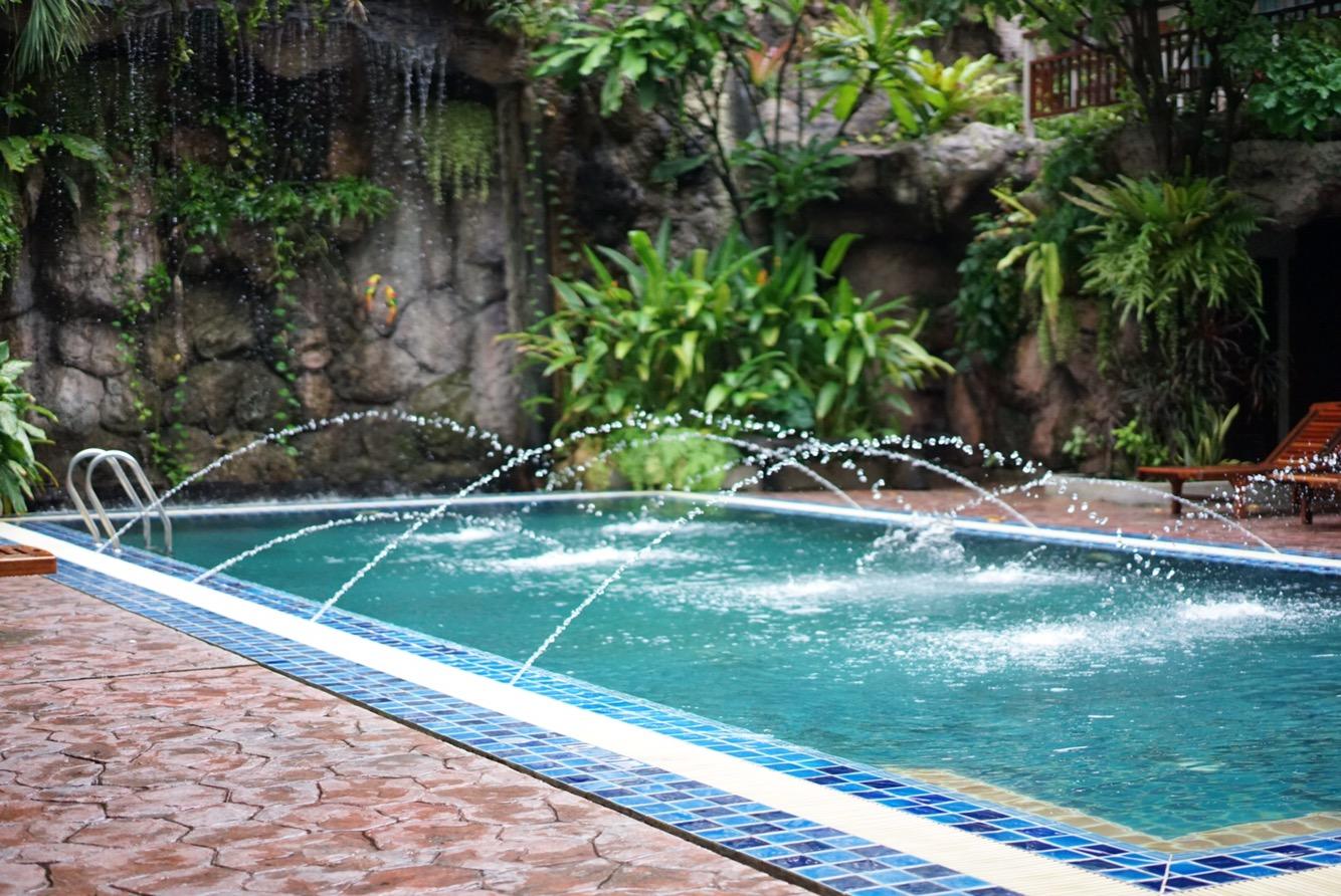 HOTELAGATEのプール