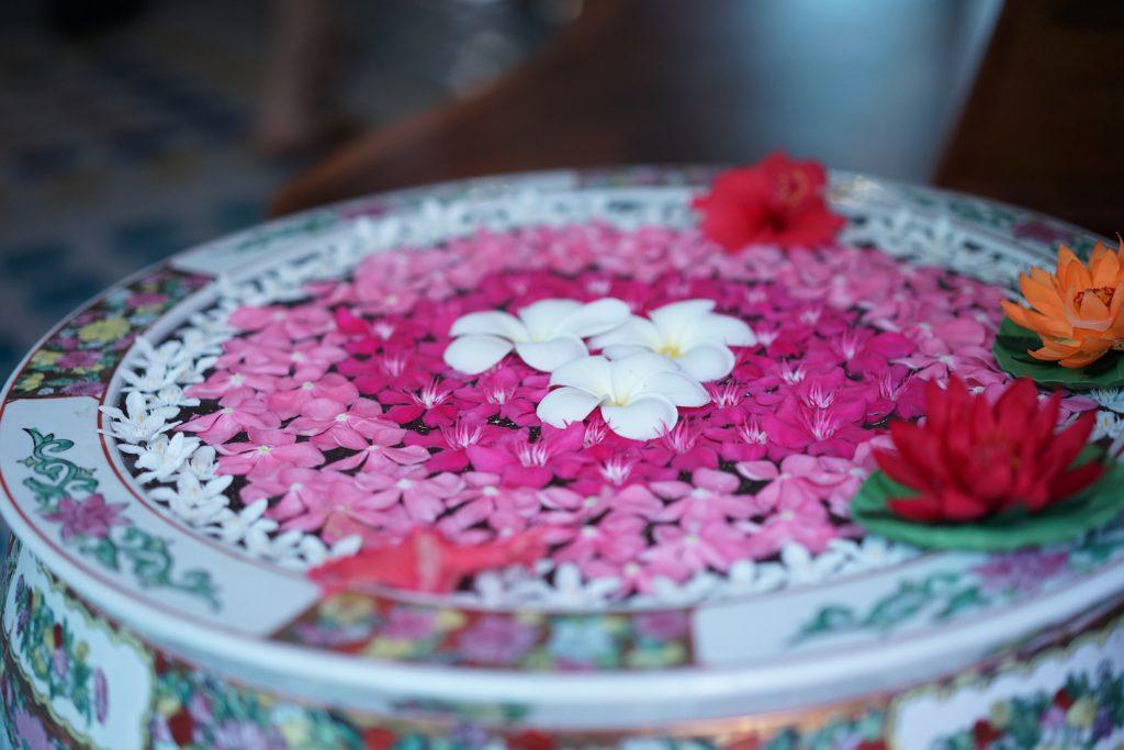 タイの花かざり