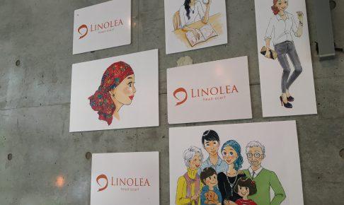 LINOLEAヘッドスカーフ