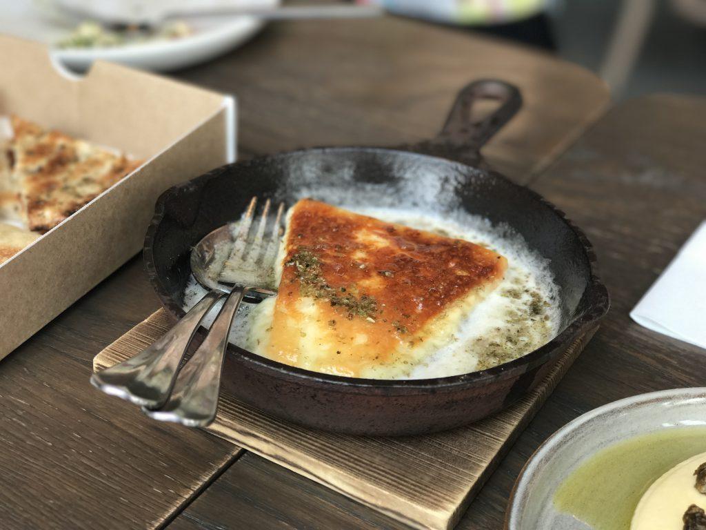 Apollo銀座サガナキチーズ