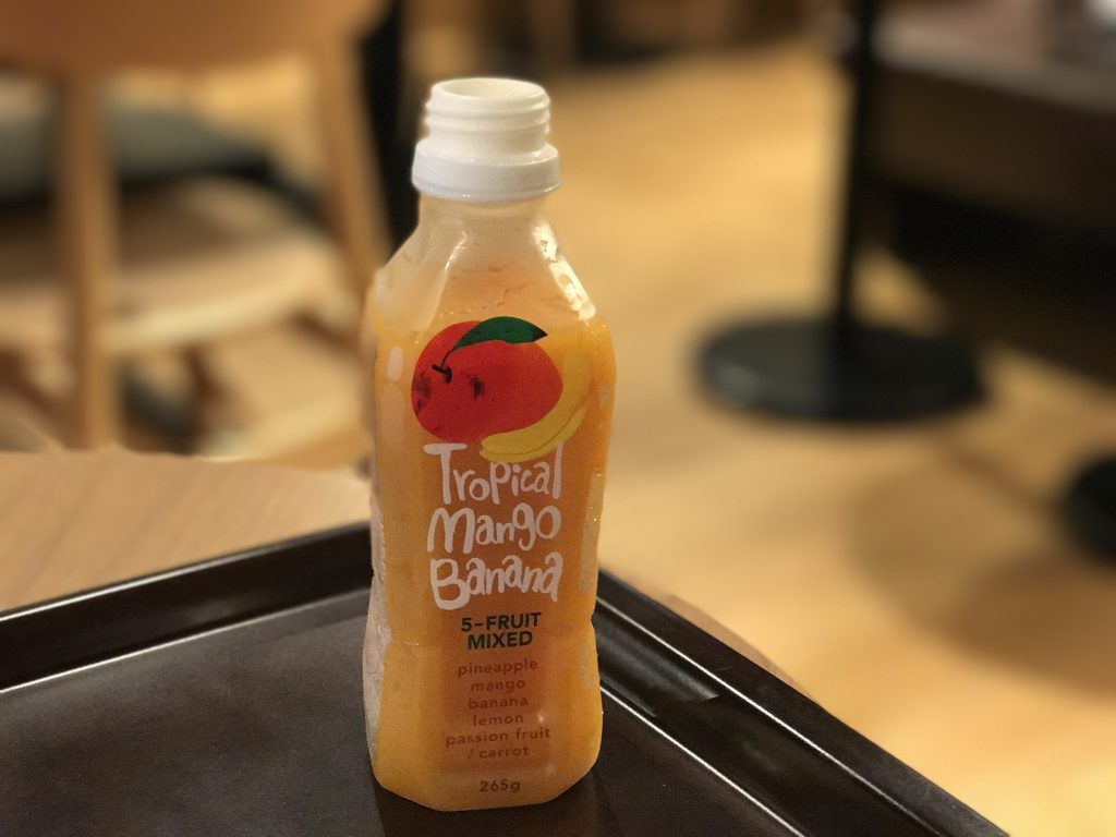 スタバのフルーツミックスジュース