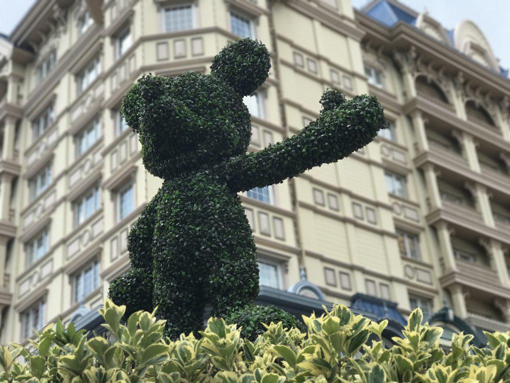 東京ディズニーランドホテルのミッキー