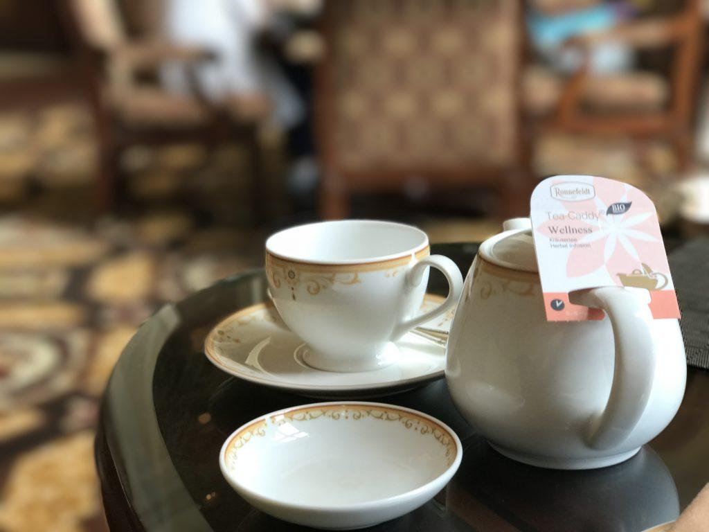 ドリーマーズラウンジの紅茶
