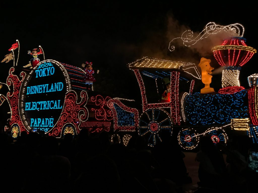 エレクトリカルパレードの汽車